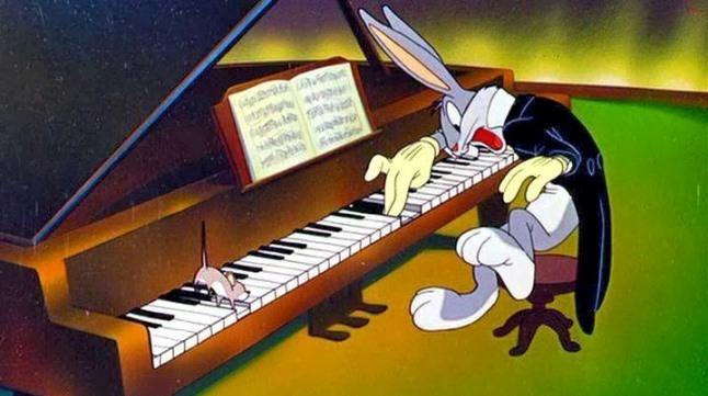 الموسيقى الكلاسيكية في أفلام الكرتون