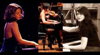 عازفة بيانو