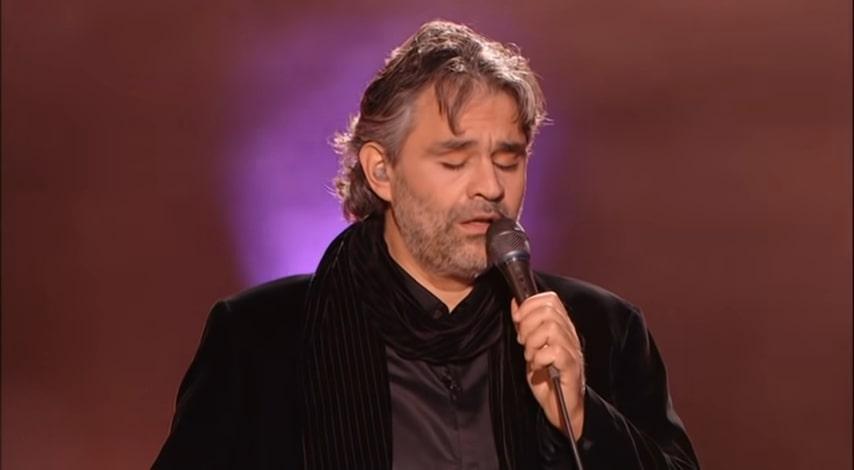 Andrea Bocelli – Can't Help Falling In Love