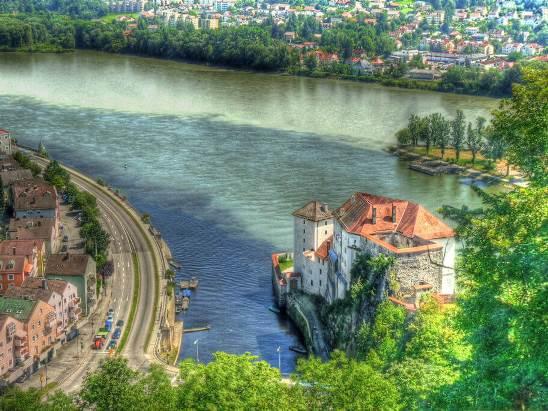 "Austria's unofficial national anthem ""The Blue Danube waltz"""