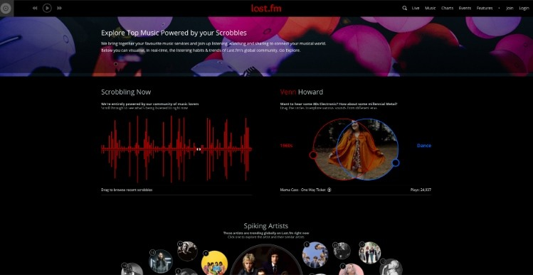 موقع تحميل اغاني Last.fm