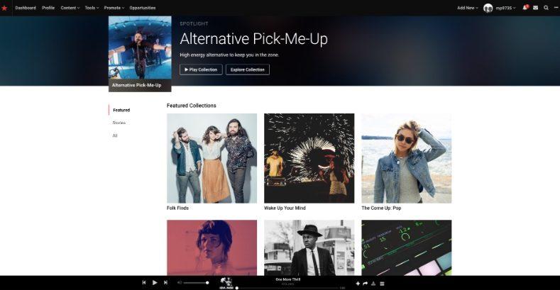 تنزيل الأغاني المجانية من موقع Reverbnation