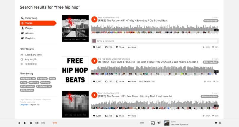 موقع تحميل اغاني ساوند كلاود SoundCloud