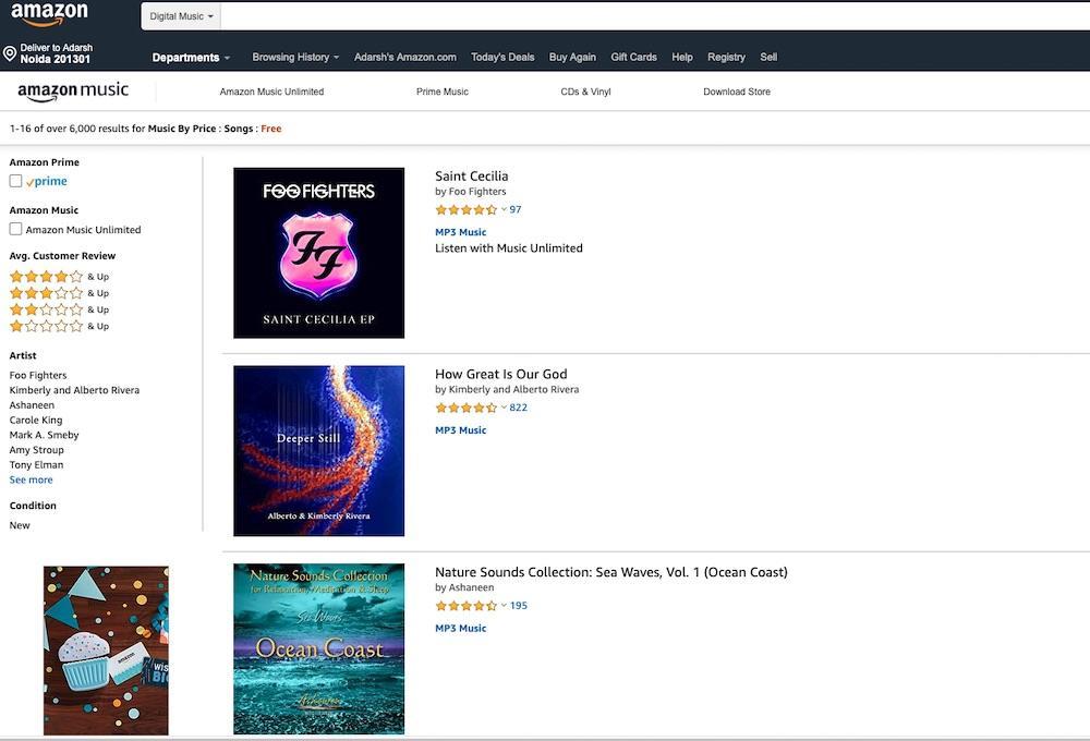 - Free Amazon Music Store